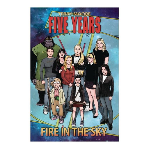 FIVE YEARS VOLUME 1 FIRE IN THE SKY TPB - Books Graphic Novels