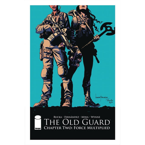 OLD GUARD FORCE MULTIPLIED #1 (OF 5 - COMIC BOOK - Comics