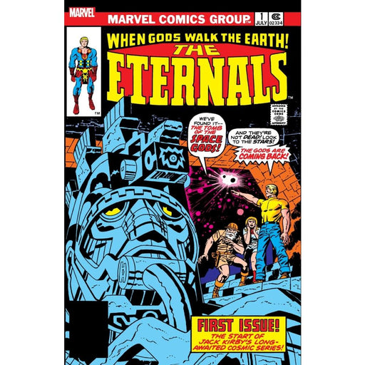 ETERNALS No.1 FACSIMILE EDITION POSTER - Posters/Prints
