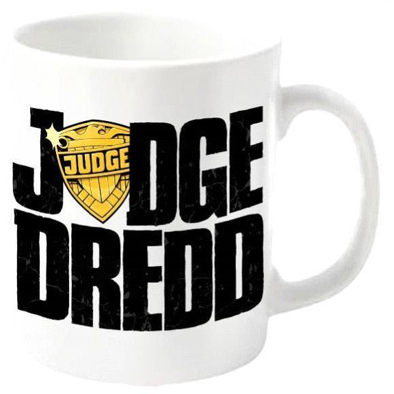 2000 AD Judge Dredd Logo Mug - Novelties-Non-Comic