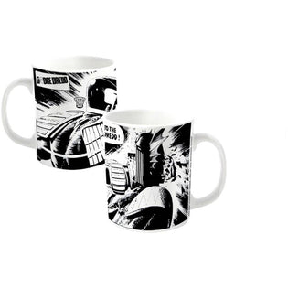 2000 AD Judge Dredd Punch Mug - Novelties-Non-Comic