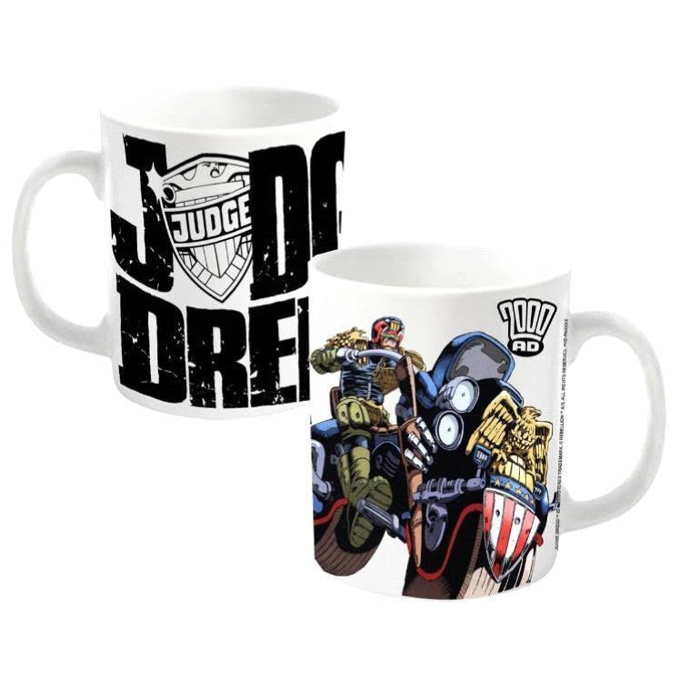 2000 AD Judge Dredd Cycle Mug - Novelties-Non-Comic
