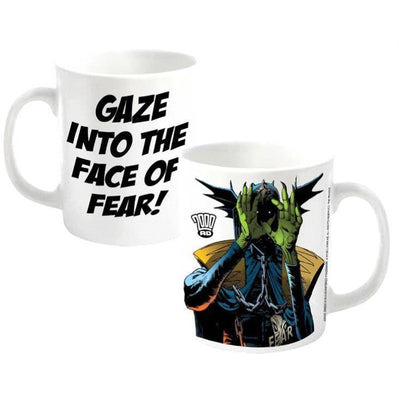 2000 AD Gaze Into The Face Of Fear Mug - Novelties-Non-Comic