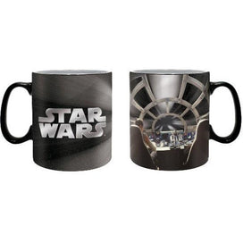 STAR WARS MILLENNIUM FALCON 460ML FOIL MUG - Novelties-Non-Comic