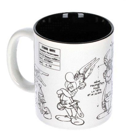 ASTERIX MUG SKETCH - Novelties-Comic