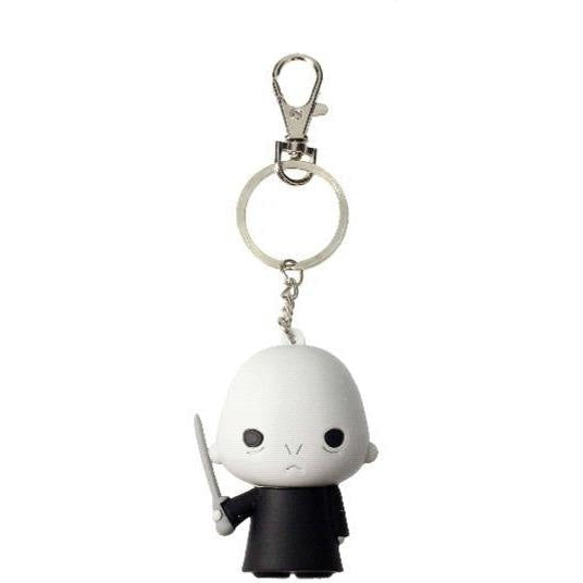 HARRY POTTER LORD VOLDEMORT FIGURAL KEYCHAIN - Novelties-Non-Comic