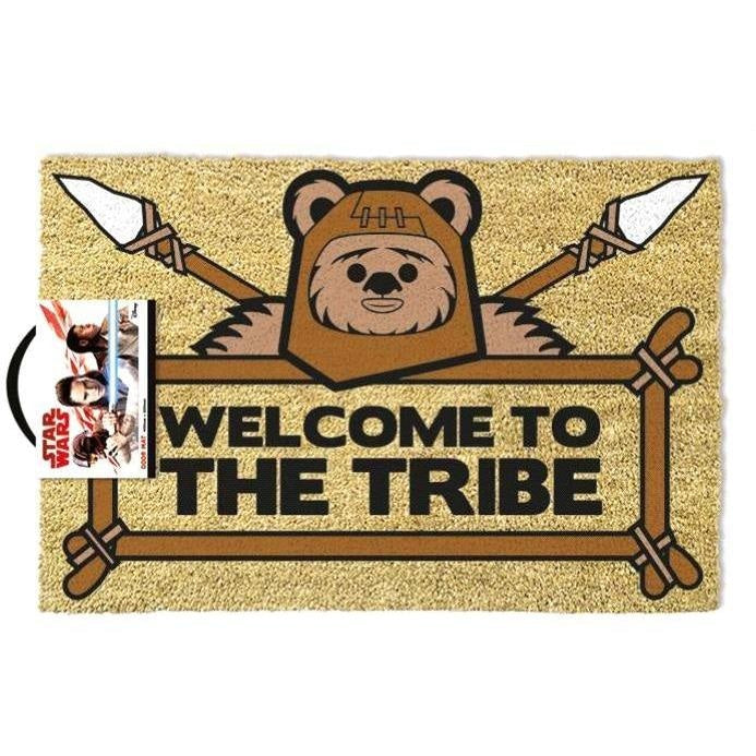 STAR WARS WELCOME TO THE TRIBE EWOK DOORMAT - Novelties-Non-Comic