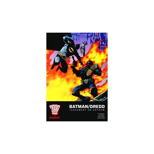 BATMAN JUDGE DREDD DIGEST TPB - Books-Graphic-Novels
