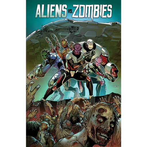 ALIENS VS ZOMBIES TPB - Books-Graphic-Novels