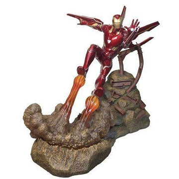 Avengers Infinity War Marvel Movie Premier Collection Statue Iron Man MK50 30 cm --- DAMAGED PACKAGING - Damaged packaging Other