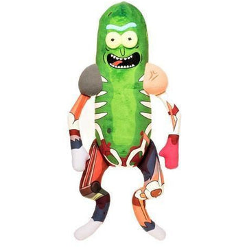 Rick & Morty Galactic Plushies Plush Figure Pickle Rick in Rat Suit 46 cm - Plushes Rick and Morty