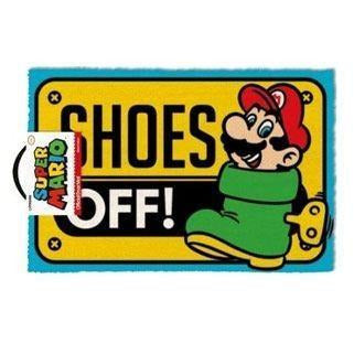 Super Mario Doormat Shoes Off 40 x 60 cm - Rugs Nintendo