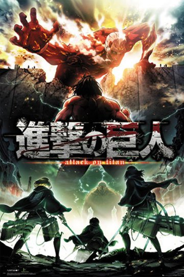 Attack on Titan Season 2 Poster Pack Key Art 61 x 91 cm (5)
