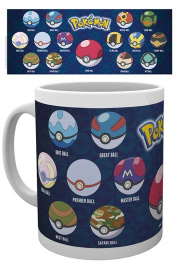 Pokemon Mug Ball Varieties (GYE-MG1723)