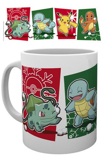 Pokemon Mug Snowball Starters (GYE-MG1739)