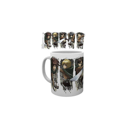Attack on Titan Season 2 Mug Character Montage - Cups & Mugs Attack on Titan