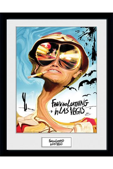 Fear and Loathing in Las Vegas Framed Poster Key Art 45 x 34 cm