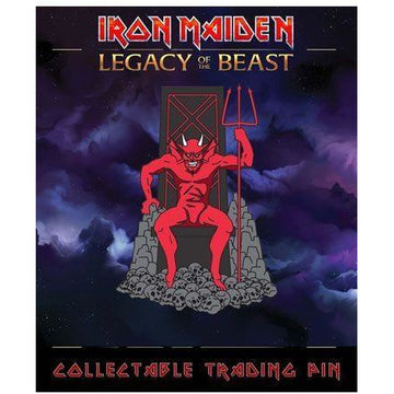 Iron Maiden Legacy of the Beast Pin Badge The Beast - Pins & Brooches Iron Maiden