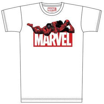 Deadpool T-Shirt Deadpool & Marvel Logo (INDIE2216S)