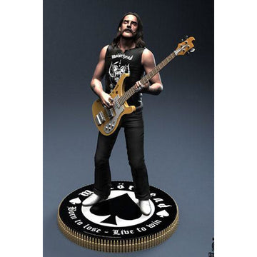 Motörhead Rock Iconz Statue Lemmy II 23 cm --- DAMAGED PACKAGING