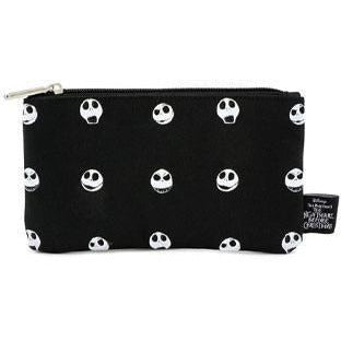 Nightmare before Christmas by Loungefly Coin/Cosmetic Bag Jack Skellington Faces - Bags Disney