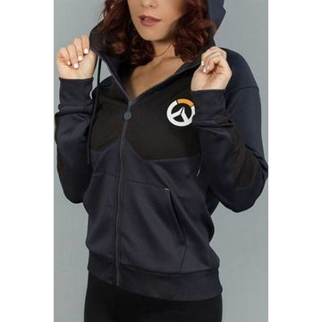 Overwatch Ladies Hooded Sweater Tech Logo - Sweaters Overwatch