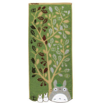 My Neighbor Totoro Towel Acorn Tree 34 x 80 cm - Towels My Neighbor Totoro