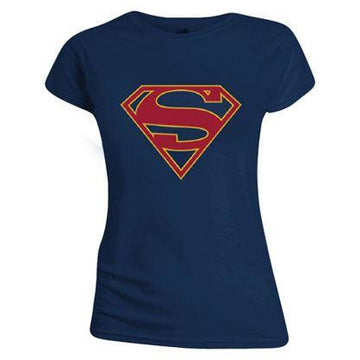 DC Comics Ladies T-Shirt Supergirl Logo
