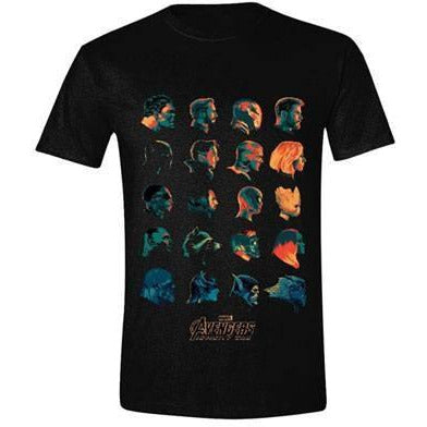 Avengers Infinity War T-Shirt Character Profile - T-shirts Marvel