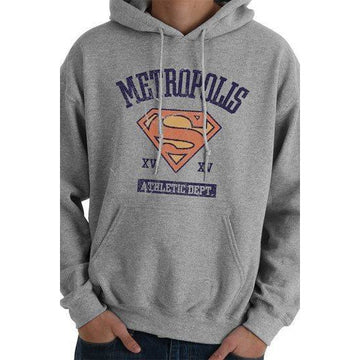 Supergirl Hooded Sweater Athletic Dept - Sweaters DC Comics