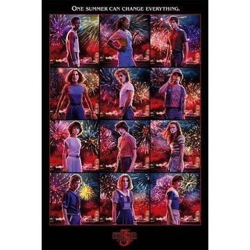 Stranger Things Poster Pack Character Montage S3 61 x 91 cm (5) - Posters & Wallscrolls Stranger Things