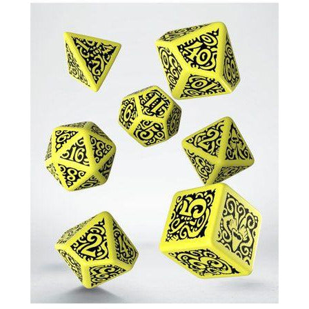 Call of Cthulhu Dice Set The Outer Gods Hastur (7) (QWSSCTS58)
