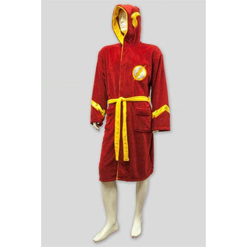 DC Comics Fleece Bathrobe The Flash