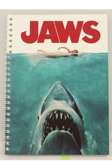 Jaws Notebook Movie Poster (SDTUNI23360)