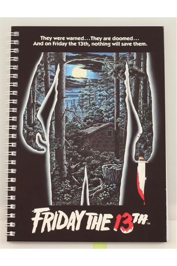 Friday the 13th Notebook Movie Poster (SDTWRN23354)