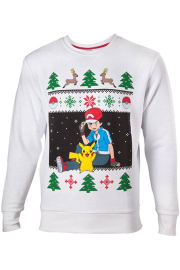 Pokemon Sweater Ash & Pikachu Christmas (SW504572POKS)