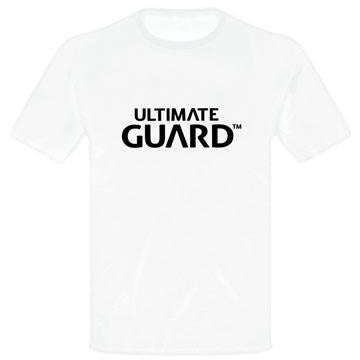 Ultimate Guard T-Shirt Wordmark White - T-shirts Ultimate Guard