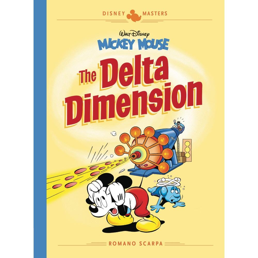 DISNEY MASTERS HARDCOVER 01 SCARPA MICKEY MOUSE DELTA DIMENSION - Books-Graphic-Novels