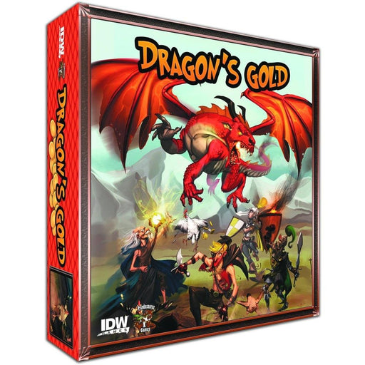 DRAGONS GOLD CARD GAME - Games