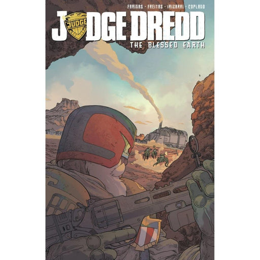 JUDGE DREDD BLESSED EARTH 01 TPB - BOOK / GRAPHIC NOVEL - Books-Graphic-Novels