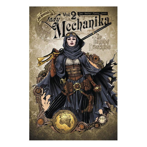 LADY MECHANIKA VOLUME 02 TABLET OF DESTINIES TPB - BOOK / GRAPHIC NOVEL - Books-Graphic-Novels