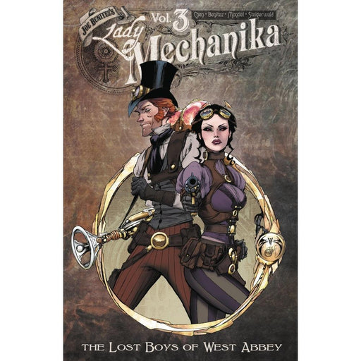 LADY MECHANIKA VOLUME 03 LOST BOYS OF WEST ABBEY TPB - BOOK / GRAPHIC NOVEL - Books-Graphic-Novels