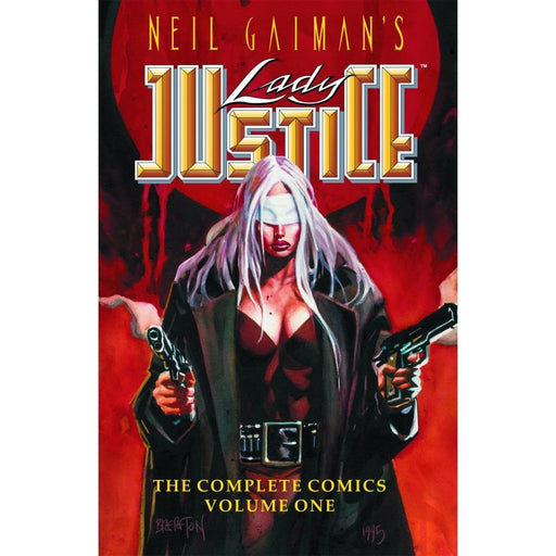 NEIL GAIMANS LADY JUSTICE 01 TPB - Books-Graphic-Novels