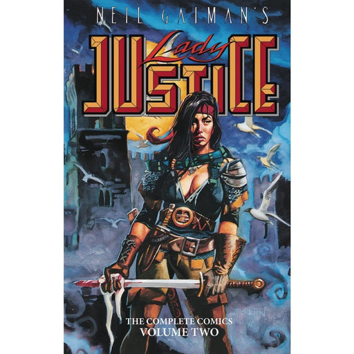 NEIL GAIMANS LADY JUSTICE 02 TPB - Books-Graphic-Novels