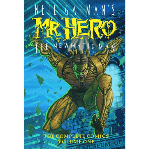 NEIL GAIMANS MR HERO HC 01 - Books-Graphic-Novels