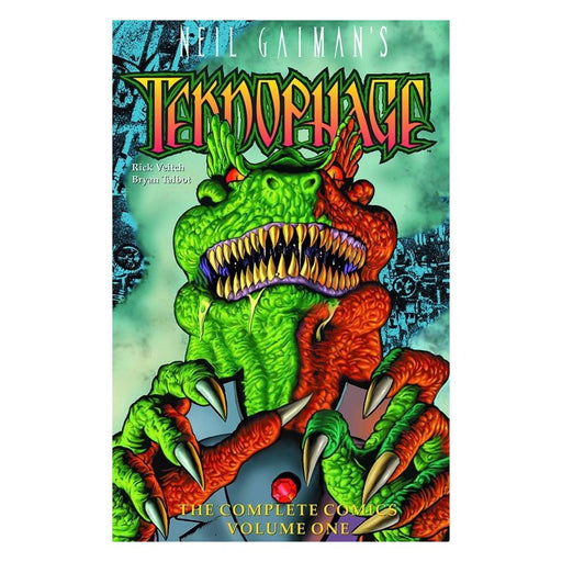 NEIL GAIMANS TEKNOPHAGE 01 TPB - Books-Graphic-Novels