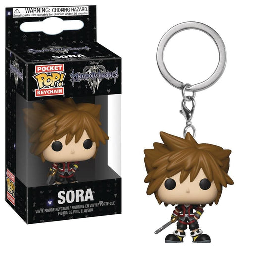 POCKET POP KINGDOM HEARTS 3 SORA FIG KEYCHAIN - Toys/Models