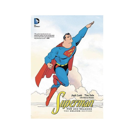 SUPERMAN FOR ALL SEASONS DELUXE ED HC - Books-Graphic-Novels