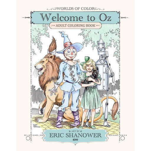 WORLDS OF COLOR WELCOME TO OZ ADULT COLORING BOOK TPB - BOOK - NOVEL/SF/HORROR - Books-Novels/Sf/Horror