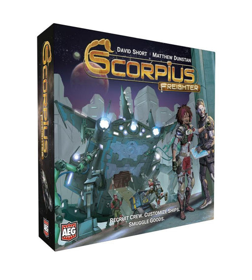 Scorpius Freighter Board Game *English Version*